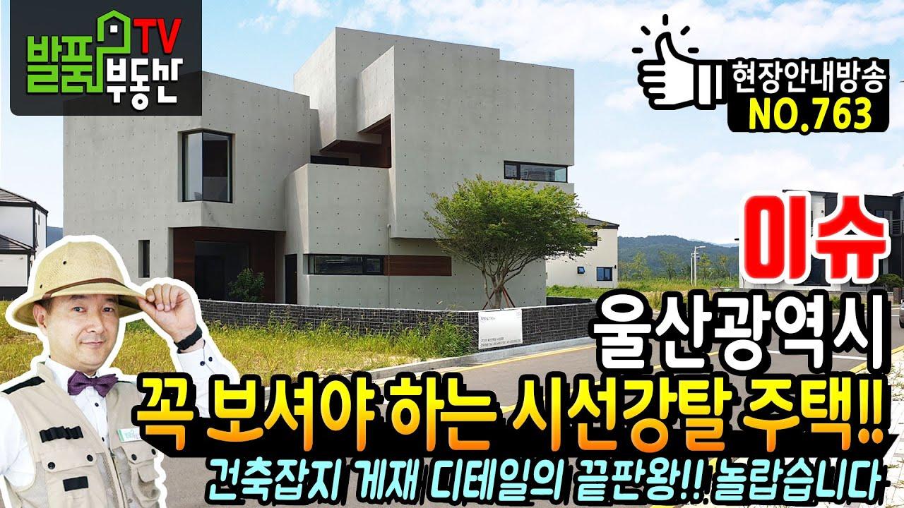 (이슈) 꼭 보셔야 하는 시선강탈 주택!! 디테일의 끝판왕 울산시 고급 전원주택 매매 작은 것 하나 놓치지 않았습니다 - 발품부동산TV KOREA HOUSE TOUR