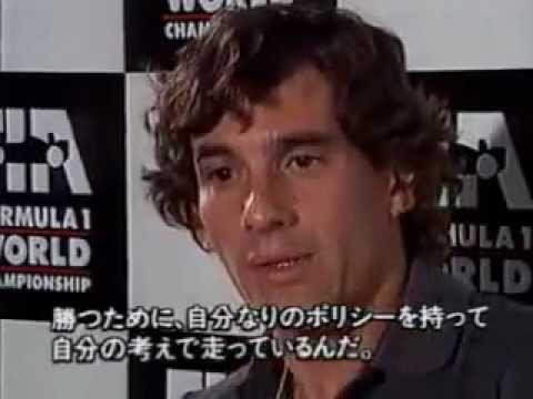Ayrton Senna interviewed by Jackie Stewart 1991