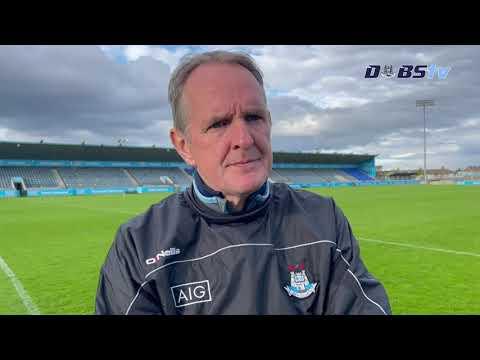Mattie Kenny speaks to DubsTV after win over Antrim