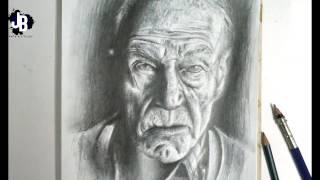 Dibujo en lapiz: Profesor x - Speed draw | JBerly