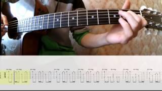 Игра Престолов  играть на гитаре Game of Thrones + ТАБЫ