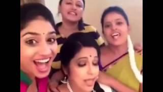 Zee telugu Mudda Mandaram actress on Aasa Dosa Apdam Vada DUBSMASH
