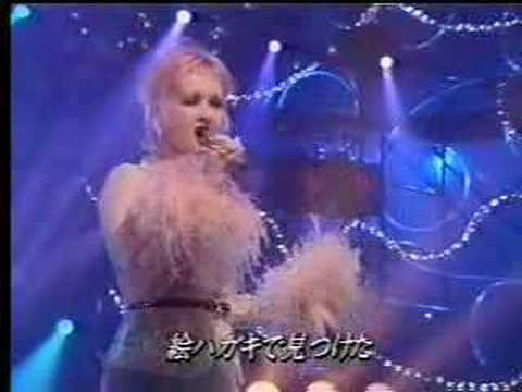 Cyndi Lauper - Giniro no Yume (Japanese TV)