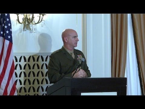 2016 Marine Day Luncheon - Brigadier General David A. Ottignon, USMC - Full Version