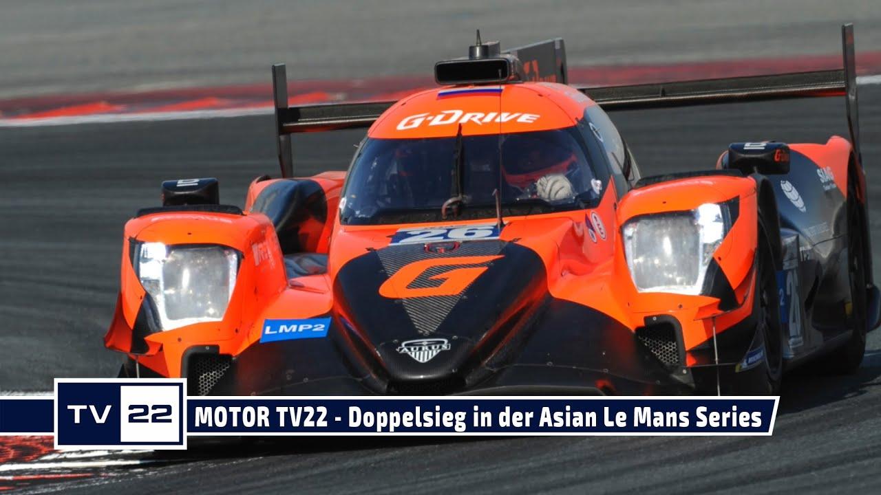 MOTOR TV22: Doppelsieg für Binder und Habsburg in der Asian Le Mans Series