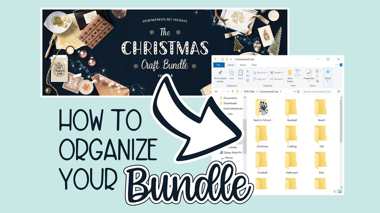 Download 🥰 How to Download Sort and Save Your Design Bundle