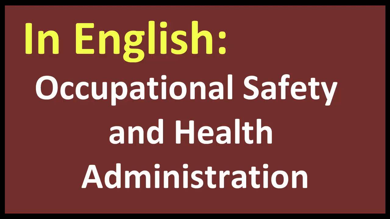 occupational safety and health administration The act created the occupational safety and health administration (osha),  which sets and enforces protective workplace safety and health standards osha .