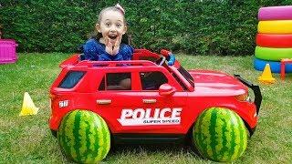 Öykü's car Broke Down on the Road toy car Power Wheels - Funny Oyuncak Avı