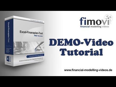 Excel Finanzplan Tool - Die Umsatz u Absatzplanung - YouTube