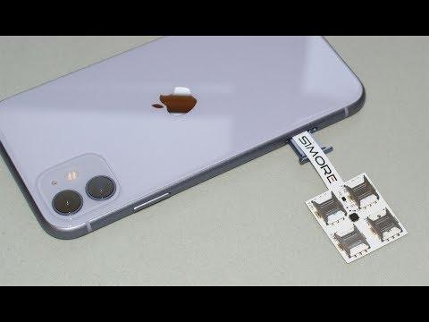 IPhone 11 Multi Dual SIM - 4 SIM Adapter SIMore Speed X-Four 11