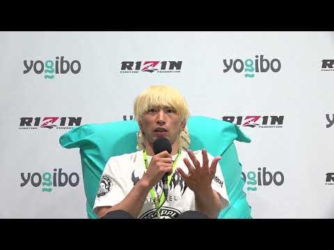 Yogibo presents RIZIN.28 渡部修斗  試合後インタビュー