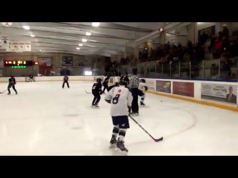 Chebucto Pee Wee hockey finals vs Bedford