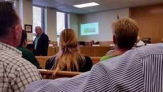 Lee Eisenberg on Weevil Production in Louisiana - Bistineau Task Force Meeting January 15, 2015