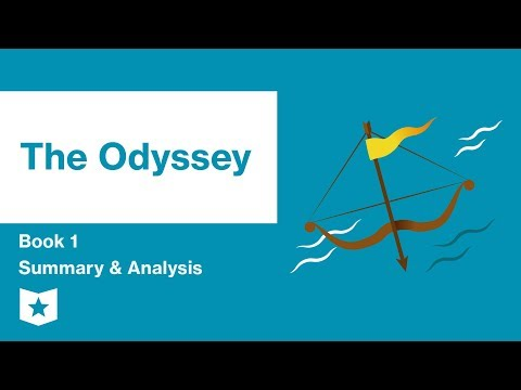 The Odyssey by Homer   Book 1 Summary and Analysis
