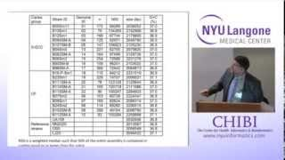 NYU CHIBI Whole Genome Sequence Comparisons Between Microbial Strains 12.10.13