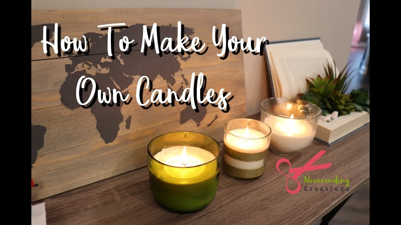 How To Make Your Own Soy Wax Candles | DIY Soy Wax Candle Making Kit | Ft   DIYGATEWAY |
