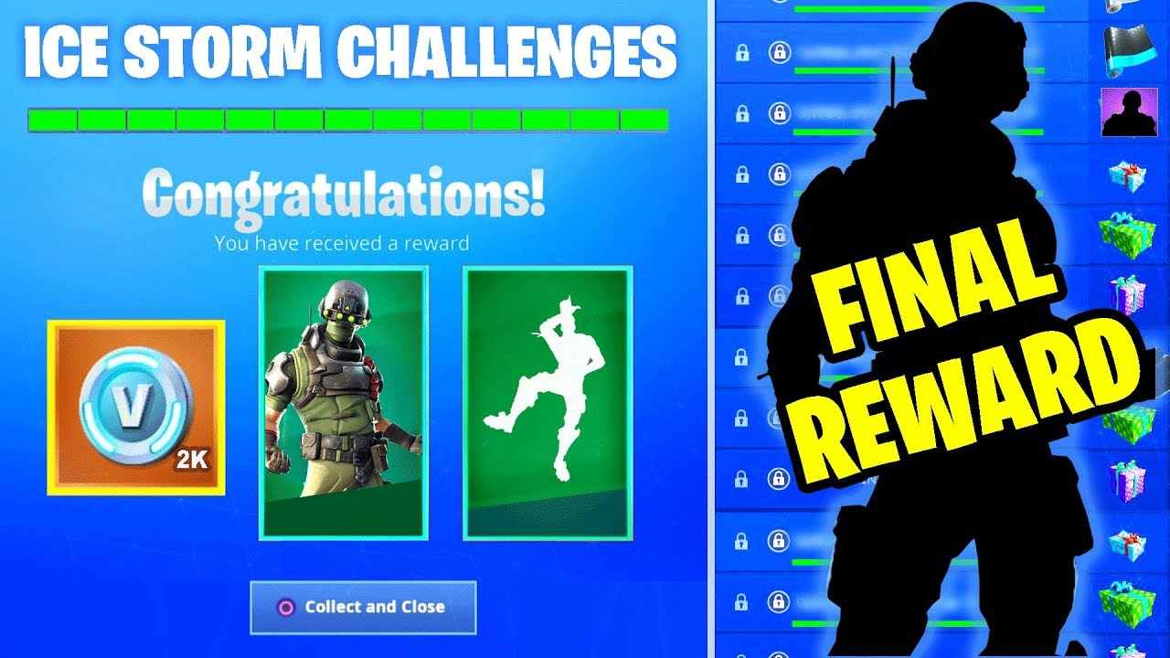 New Ice Storm Challenges Final Reward Leaked All Free Gifts