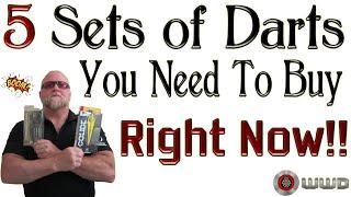 Top 5 Darts Y๐u Need To Buy RIGHT NOW!