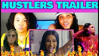 HUSTLERS TRAILER PREMIERE | REACTION!
