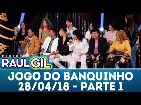 Jogo Do Banquinho - Parte 1 | Programa Raul Gil (28/04/18)