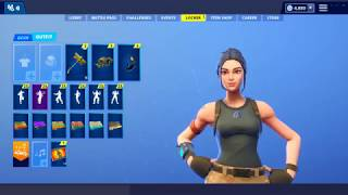 """NEW"" Tryhard Default Skin coming to fortnite! Showcased with all Leaked Emotes ! Scenario"