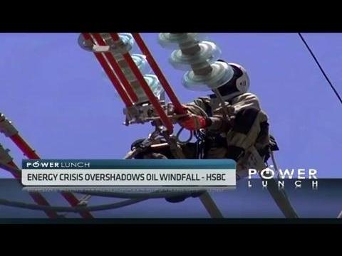 S.Africa's energy crisis overshadows oil windfall