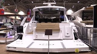 2016 Cruisers Yachts 45 Cantius Motor Yacht - Walkaround - 2016 Toronto Boat Show