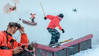 Air Time an fpv perspective of freestyle skiing!