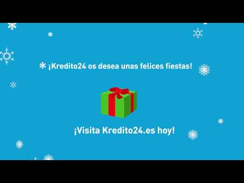 Kredito24.es Felices fiestas