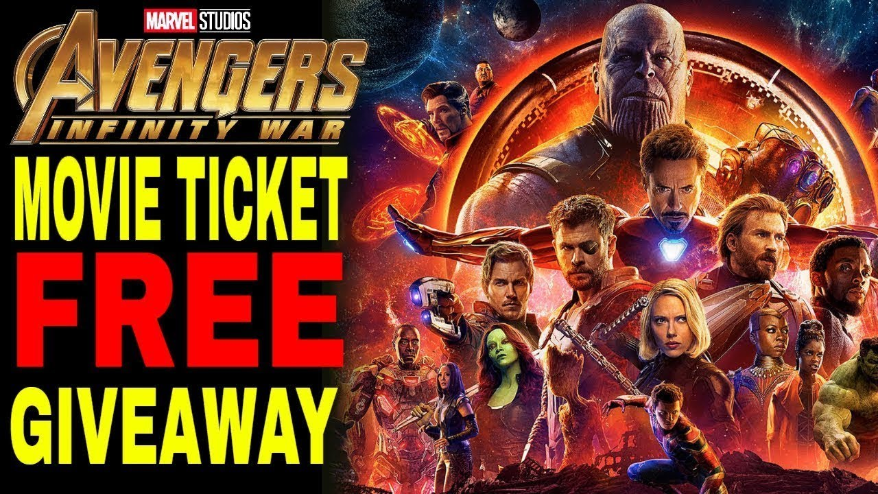 Avengers Infinity War: Free Movie Ticket Giveaway