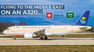 TRIPREPORT | Saudia (ECONOMY) | Airbus A320 | Geneva - Medina - Riyadh