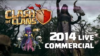 Clash of Clans 2014 Live Action Movie Trailer Commercial