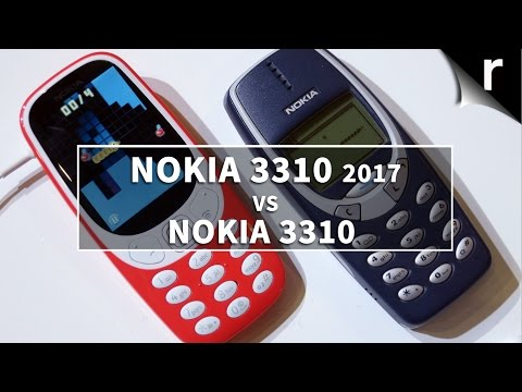 Nokia 3310 (2017) vs Nokia 3310 (2000): Blast from the past