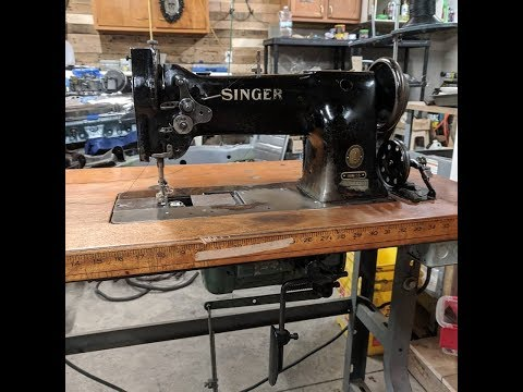 Singer 111W155 Industrial Compound Feed Sewing Machine