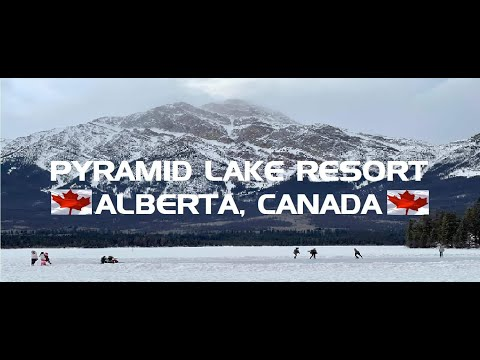 PYRAMID LAKE RESORT-JASPER NATIONAL PARK /ONE OF THE BEST PLACE TO VISIT IN CANADA