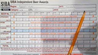Beer Log: behind the scenes beer judging!   The Craft Beer Channel