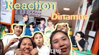 [หนีมาReaction] Dynamite- BTS(방탄소년단)MV official | เลือกเมนไม่ถูกเลยแม่!! (Thai reaction)