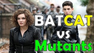 bruce and selina fight mutant gang in gotham season 5 batman catwoman