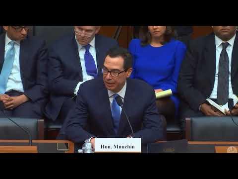 Congressman Kustoff Discusses CRA with Treasury Secretary Mnuchin