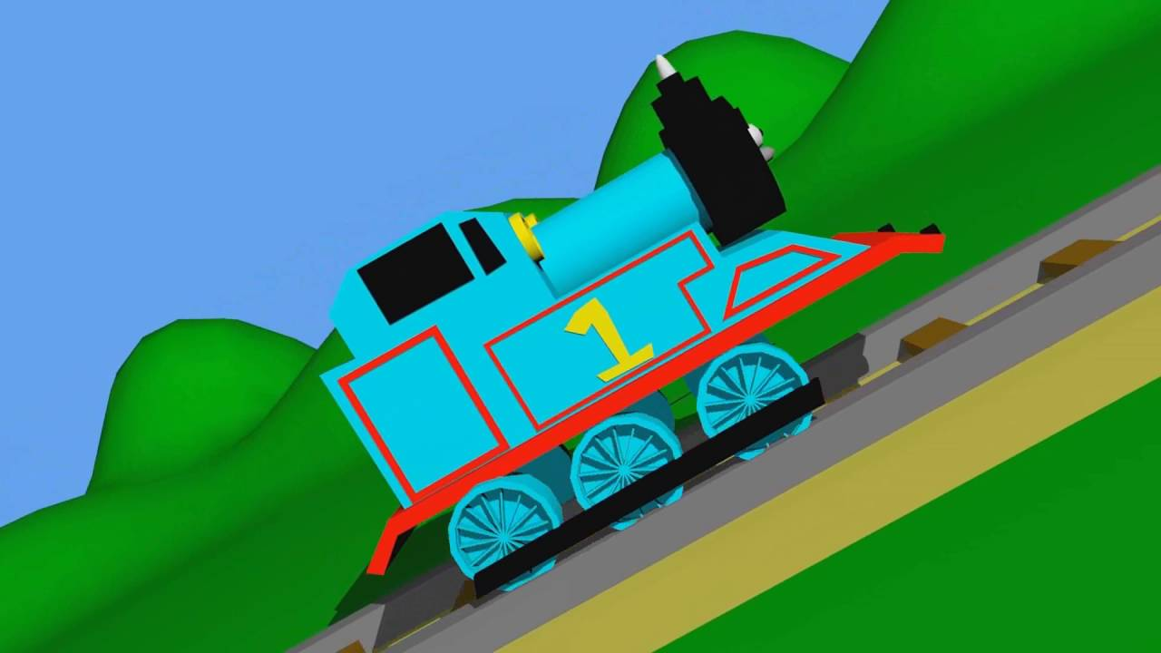 Train Animation For Kids