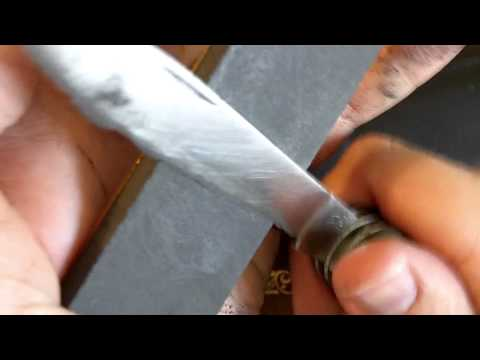 How to sharpen a dull knife in 13 minutes