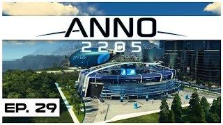 Anno 2205 - Ep. 29 - The 100,000 Investor Stadium! - Let