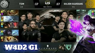 TSM vs Golden Guardians | Week 4 Day 2 S10 LCS Summer 2020 | TSM vs GG W4D2