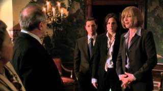 The West Wing - CJ laughs at Marion Coatsworth Hay