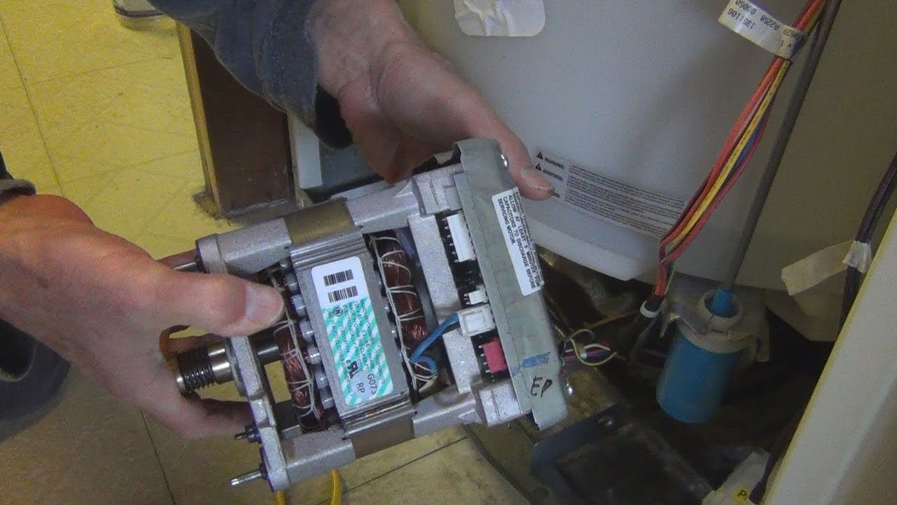 GE Hydrowave Top Load Washer Repair on