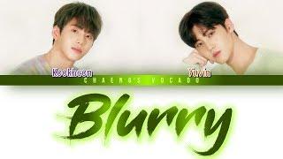 BLURRY - KIM KOOK HEON, SONG YU VIN (김국헌, 송유빈) | Color Coded Lyrics/가사 | Han/Rom/Eng