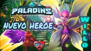 Nuevo Heroe - Willo - Paladins ps4