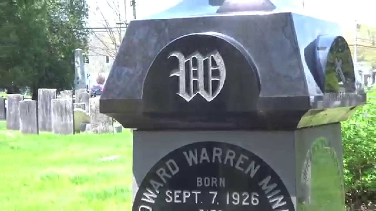 Ed Warrens Final Resting Place Stepney Cemetery YouTube