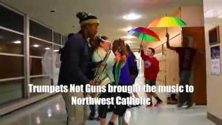 """Saints"" by Northwest Catholic and Calvin Johnson Jr for Trumpets Not Guns"