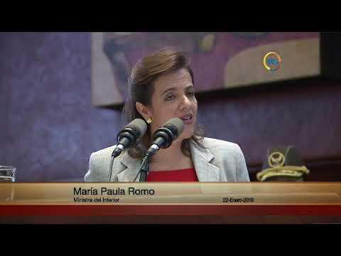 María Paula Romo - Sesión 569